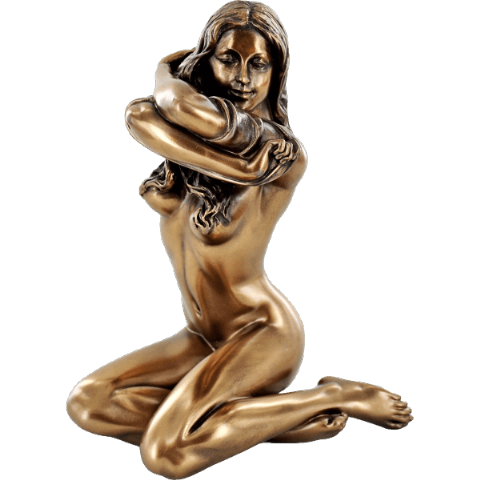 Melissa Cold Cast Bronze Sculpture